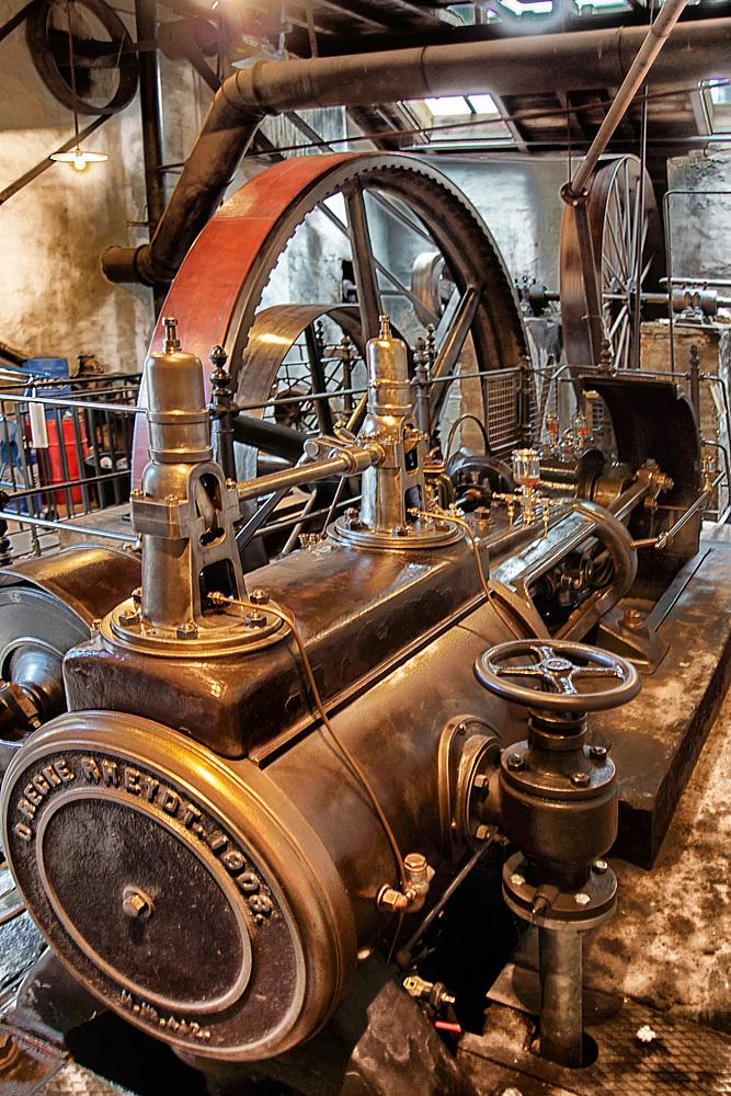 Dampfmaschine der Firma Recke