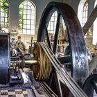 Dampfmaschine mit Riementransmission