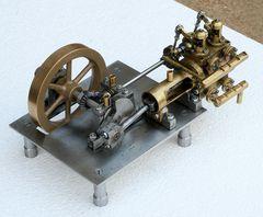 Dampfmaschine mit Ventilsteuerung