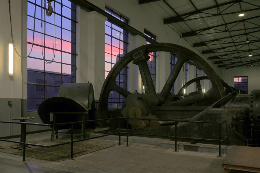 Dampfmaschinenhalle auf Kokerei Hansa