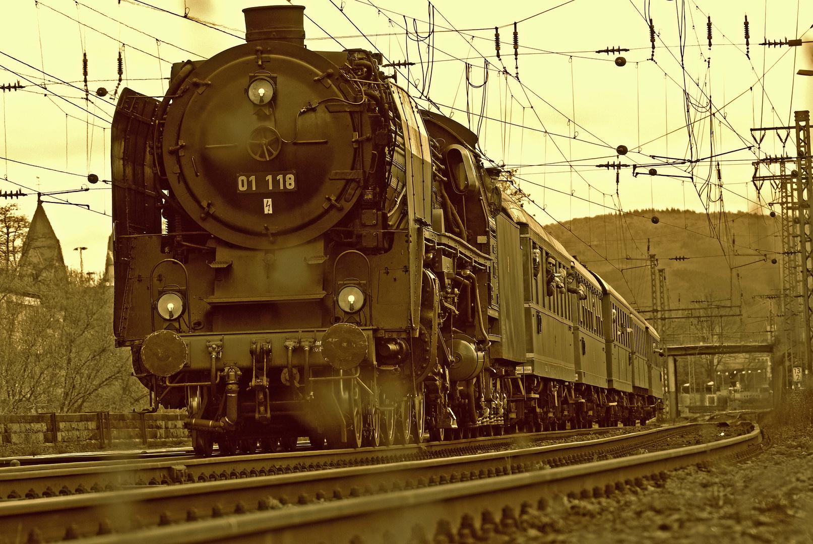 """"""" Dampfross"""" 01 118 Dampfspektakel 2010"""