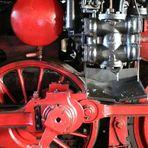 Dampfross - Treibrad mit Gegenkurbel