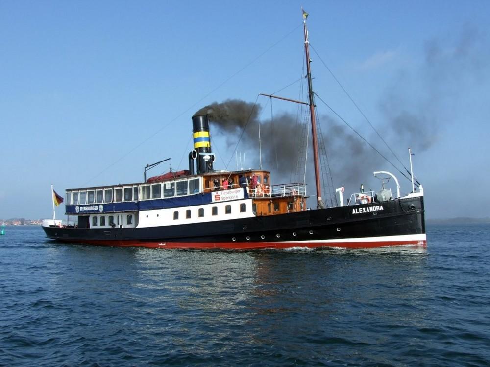 Dampfschiff Alexandra Foto Bild Schiffe Und Seewege