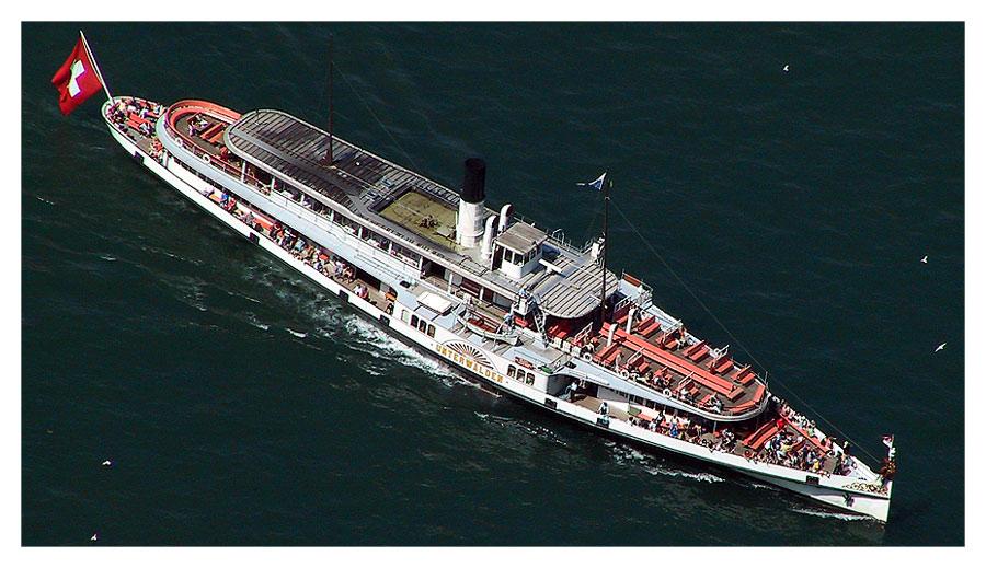 Dampfschiff Unterwalden