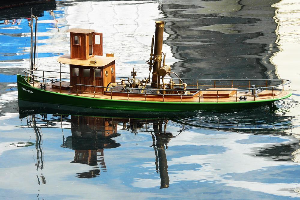 Dampfschiffahrt - wie es früher mal war