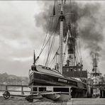 Dampfschiffe  Flensburger Hafen