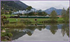 Dampfschnellzug im Pinzgau