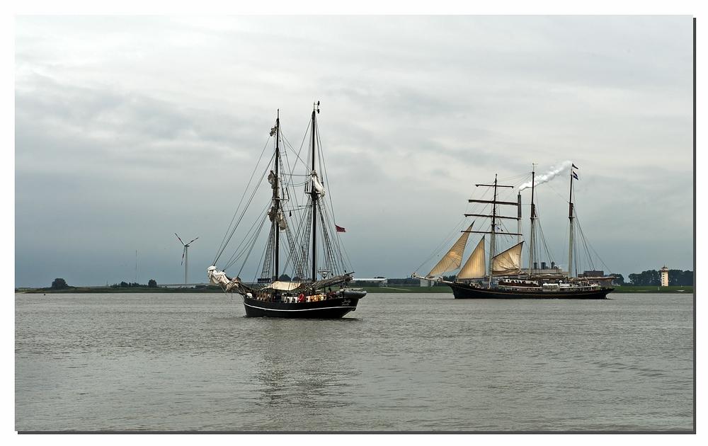 Dampfsegelschiff ;-)