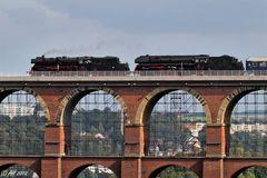 Dampfsonderzug nach Dresden....