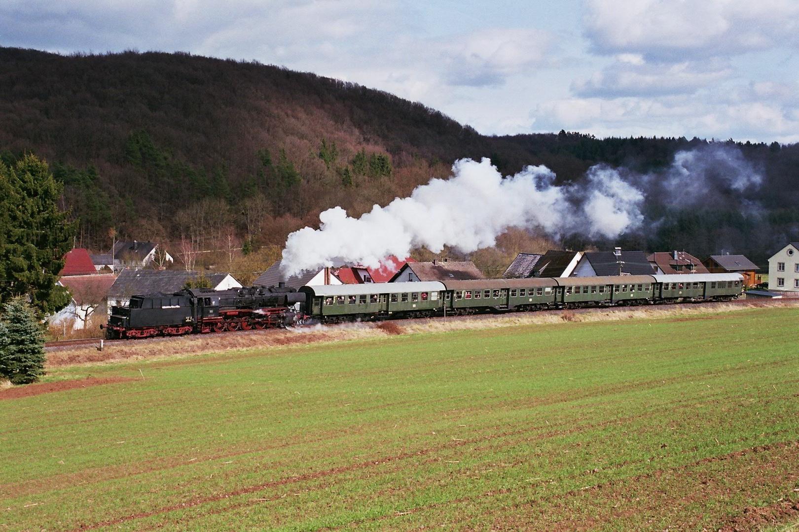 Dampfspektakel 2010 50 2740 am Haltepunkt