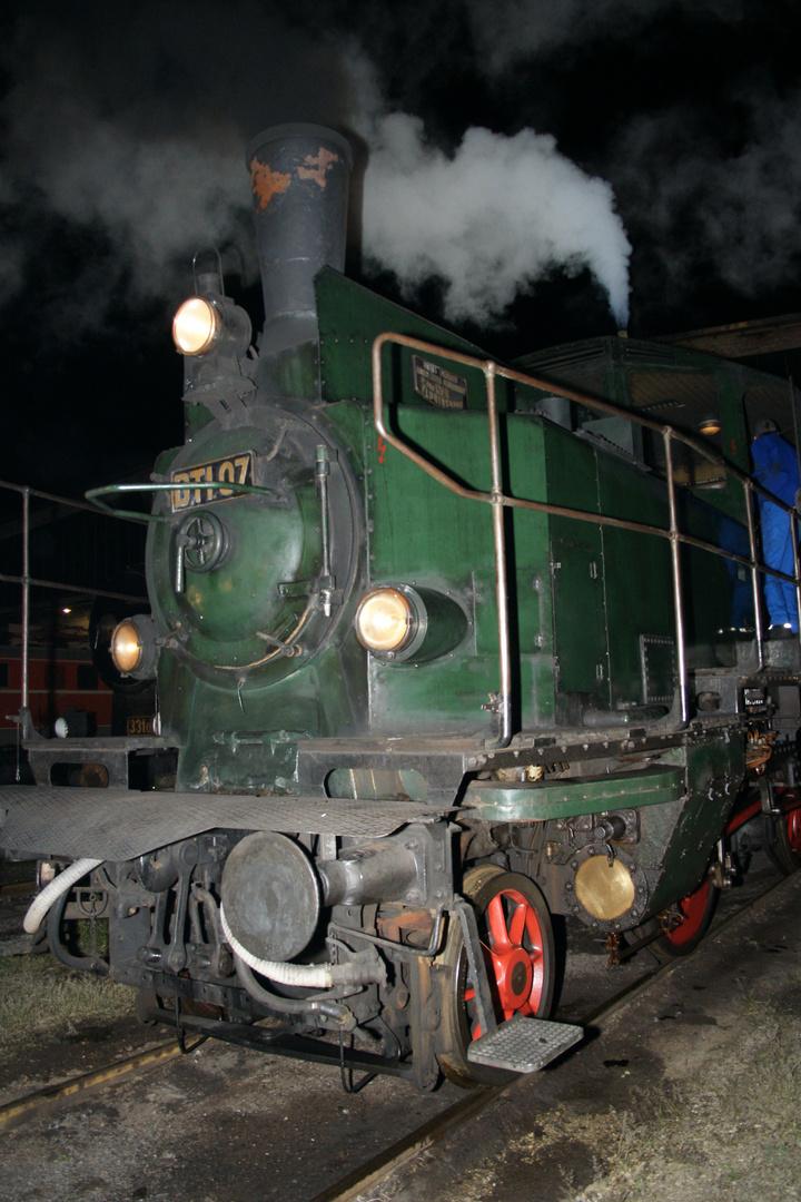"""Dampftriebwagen DT 1.07 """"Der Dorftrottel"""""""