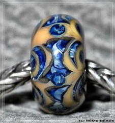 """Dances with Wolves"" bead"