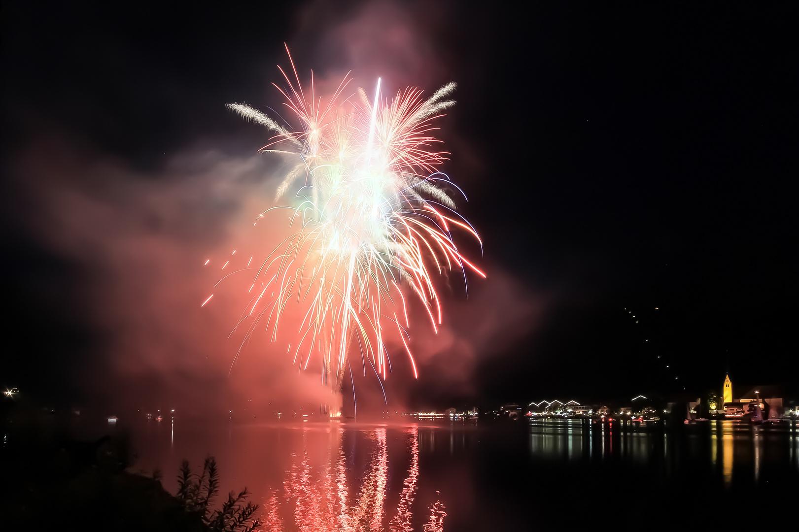 Dancing Feuerwerk