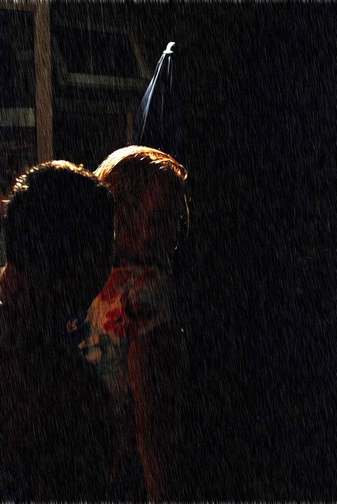 Dancing in the rain... (1)