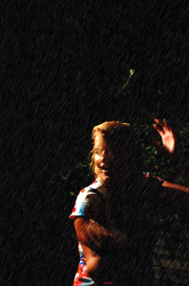 Dancing in the rain... (3)