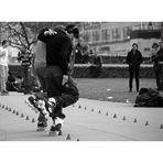 dancing skater
