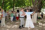dancing zamba Argentina circulo criollo el rodeo