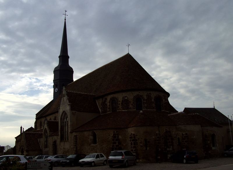 Dangeau - Die Kirche