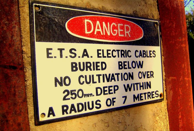 Danger - Electricity