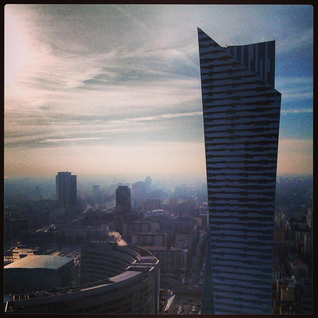 Daniel Libeskind skyscraper in Warsaw