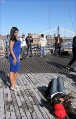 ...dann gabs da noch ein Shooting auf der Brooklyn bridge .... und weil ich schon mal da war...