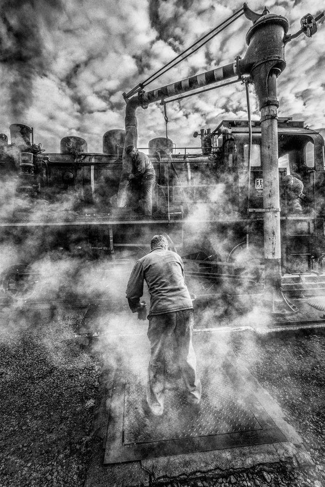 Dans la confusion des vapeur