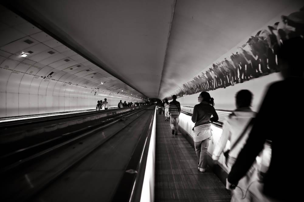 dans la metro