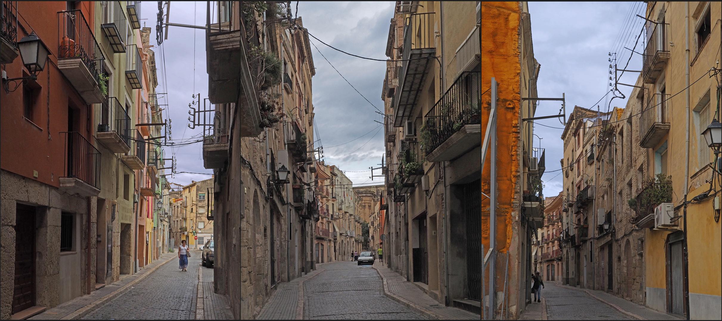 Dans la vieille ville de Tortosa