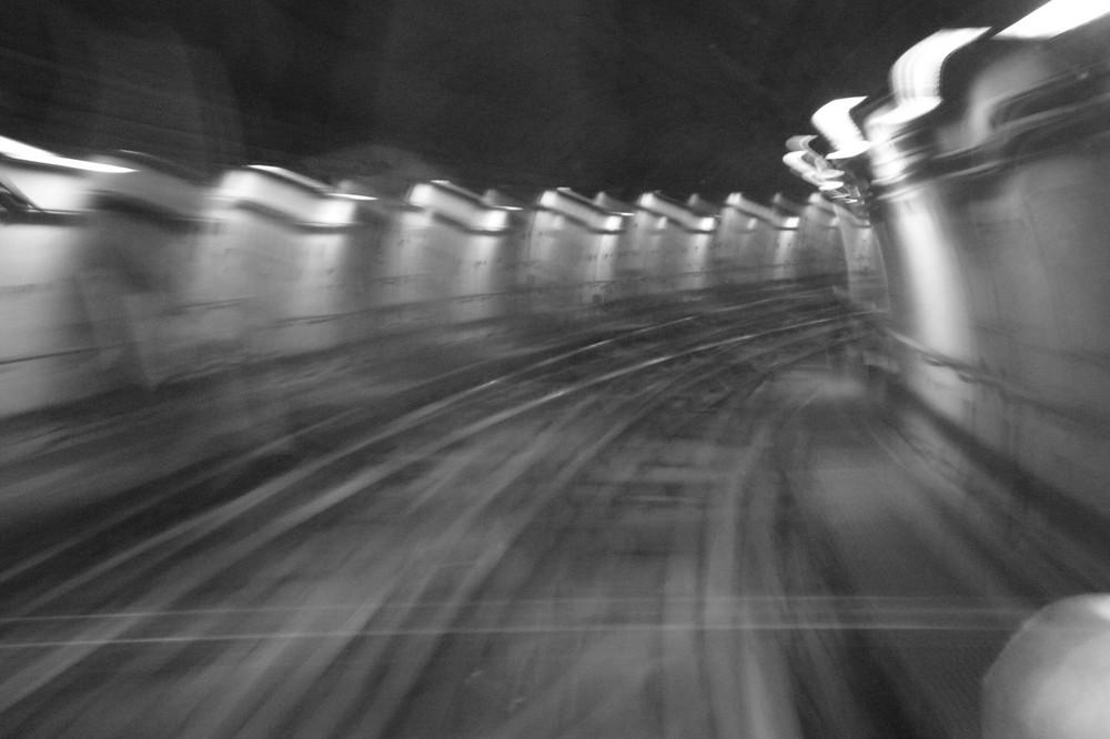 dans le metro de Turin