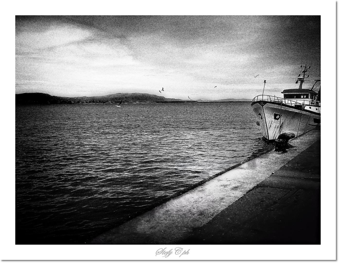 Dans le Port d'hiver.......
