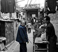 Dans les petites rues de Pékin