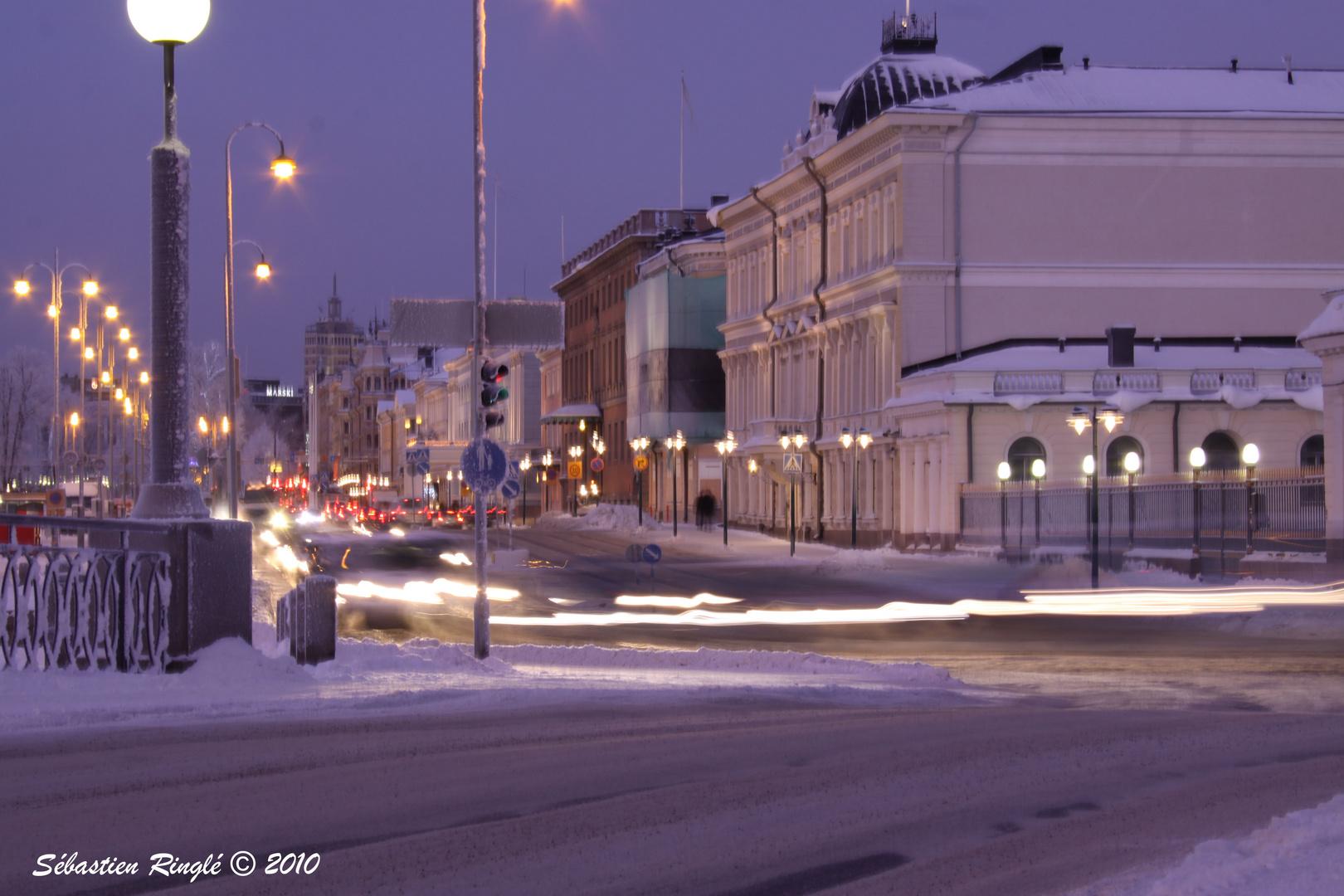 Dans les Rues d'Helsinki