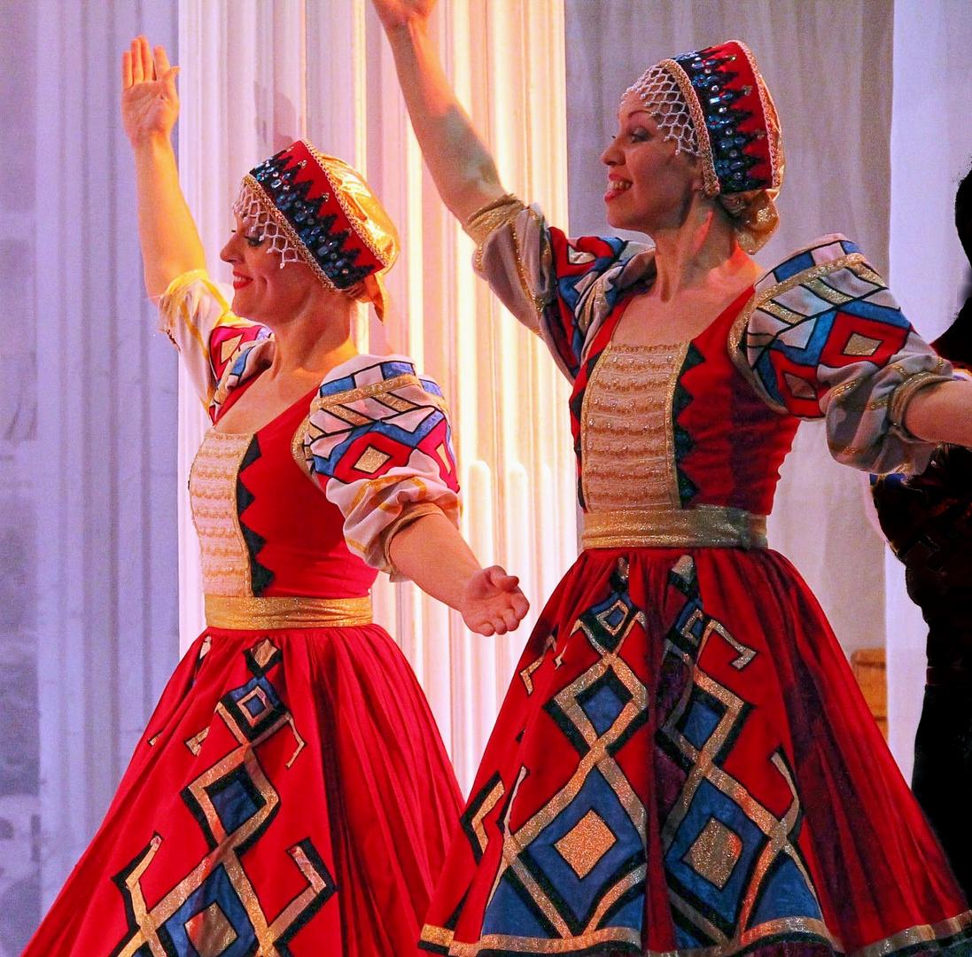 Danses russes pour ce dernier jour de l'année