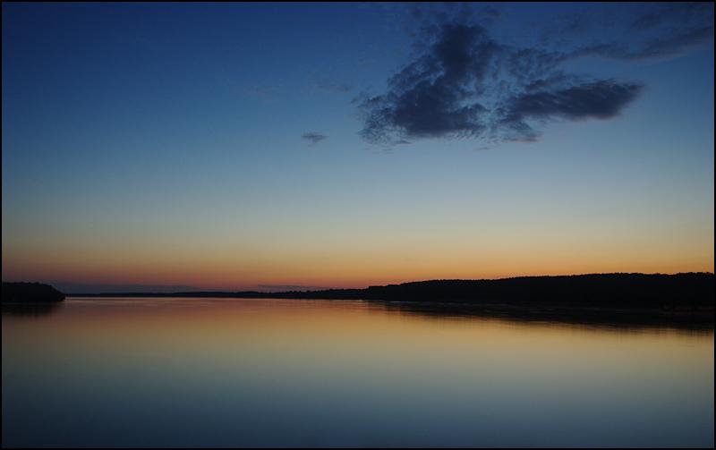 Danube at dusk