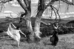 danzando nella natura
