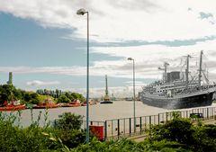 Danzig Neufahrwasser - Westerplatte -2012 - 1945 -