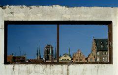 Danzig Skyline von Abbruchhaus