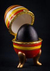 Darf ich mich vorstellen? ICH bin das SCHWARZE SCHAF in der Eierfamilie...##1906##(3)