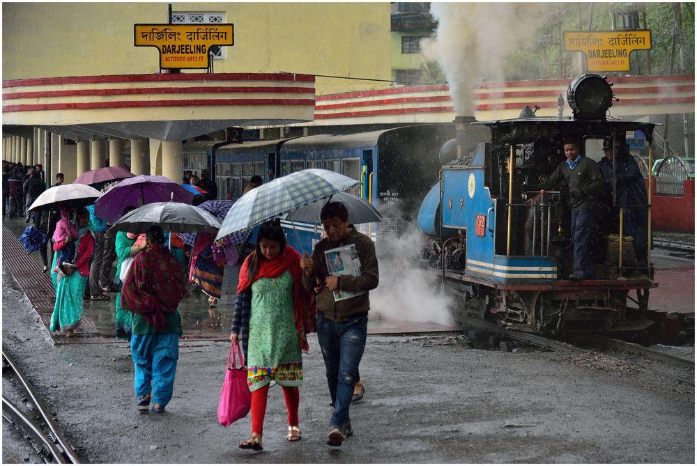 Darjeeling im Regen II