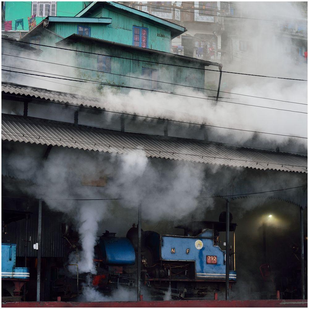 Darjeeling in Dampf