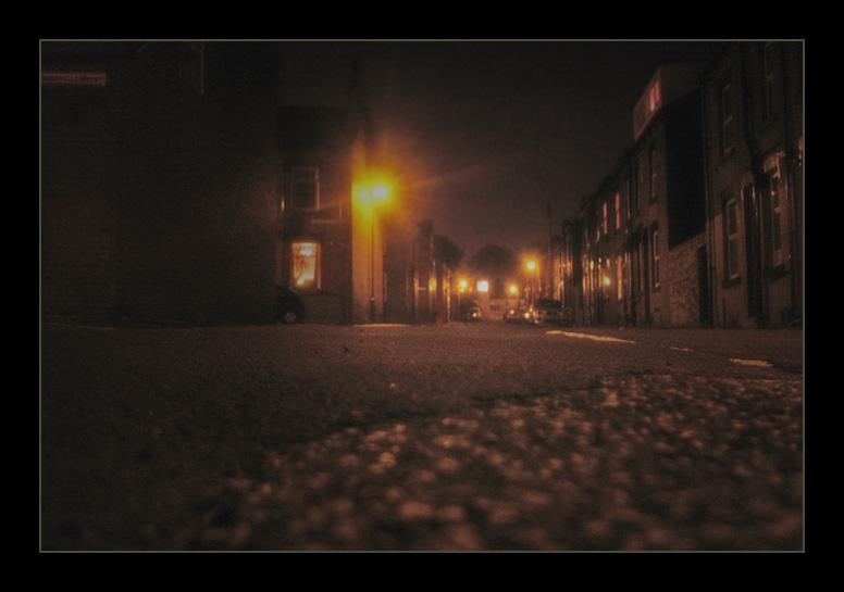 Dark Amber Streets of England