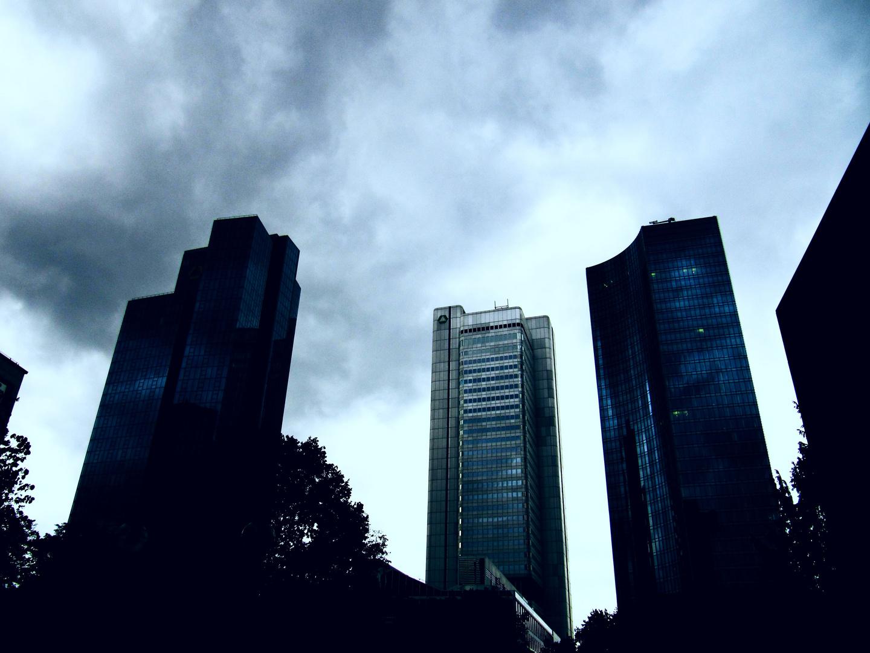 dark clouds