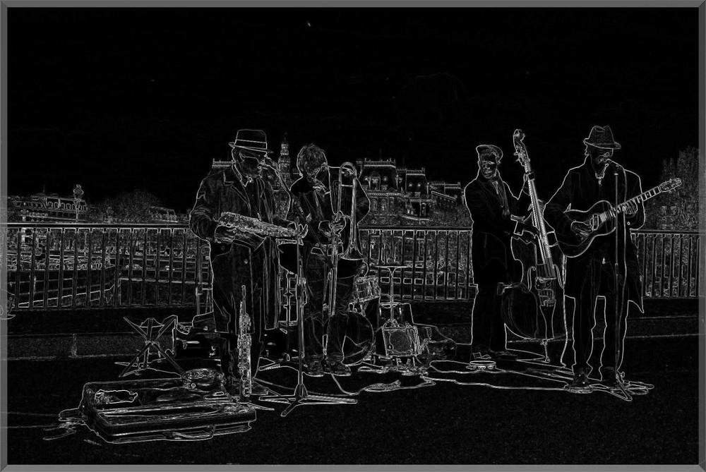 ... Dark  Jazz in Paris...