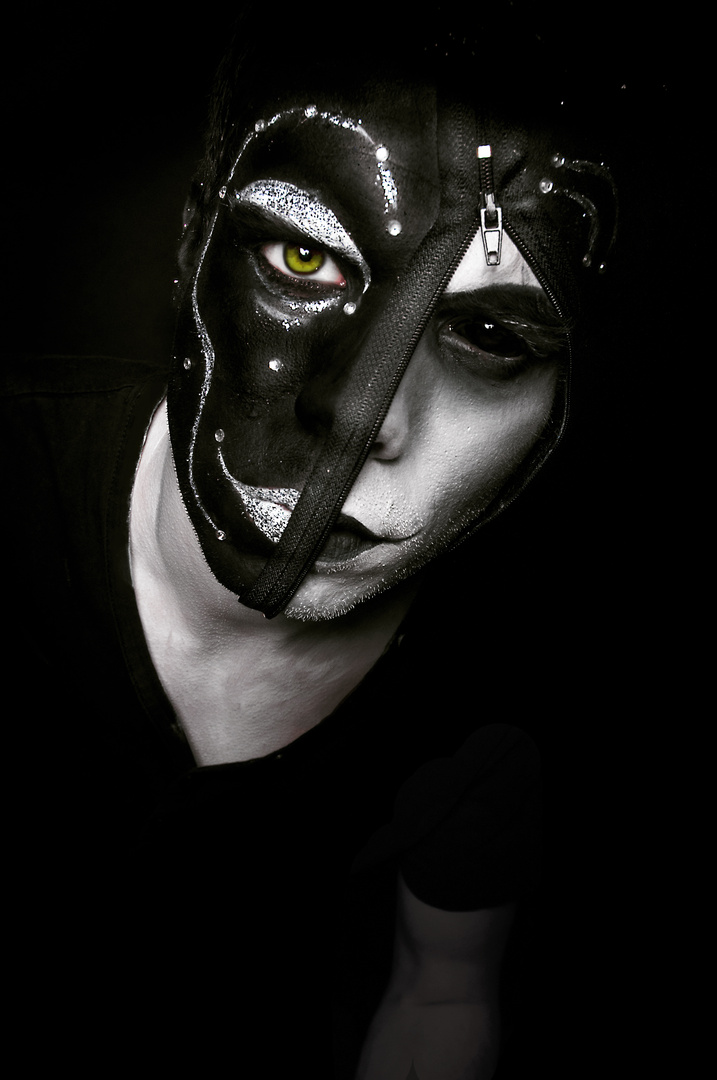 dark side of the mask!