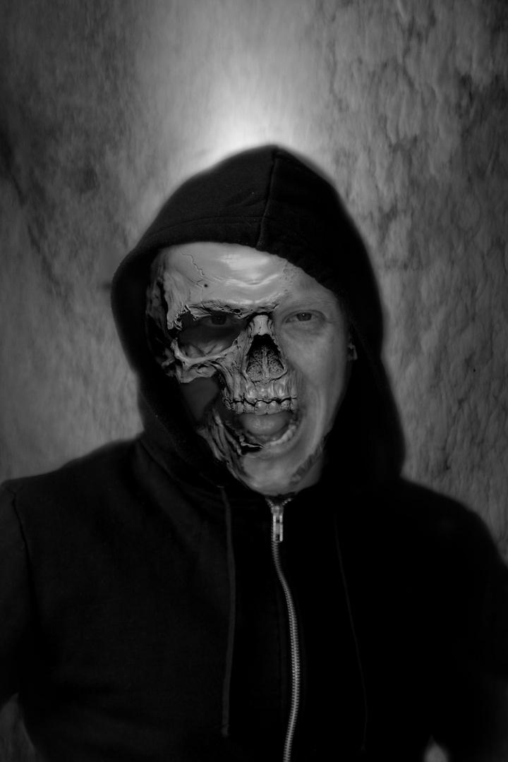 Dark Techno Front Foto & Bild | erwachsene, portrait