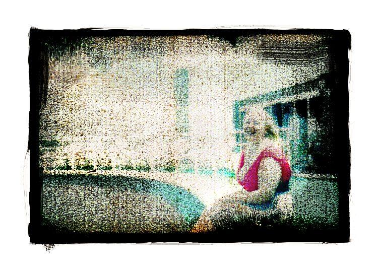 ...darling on pool...