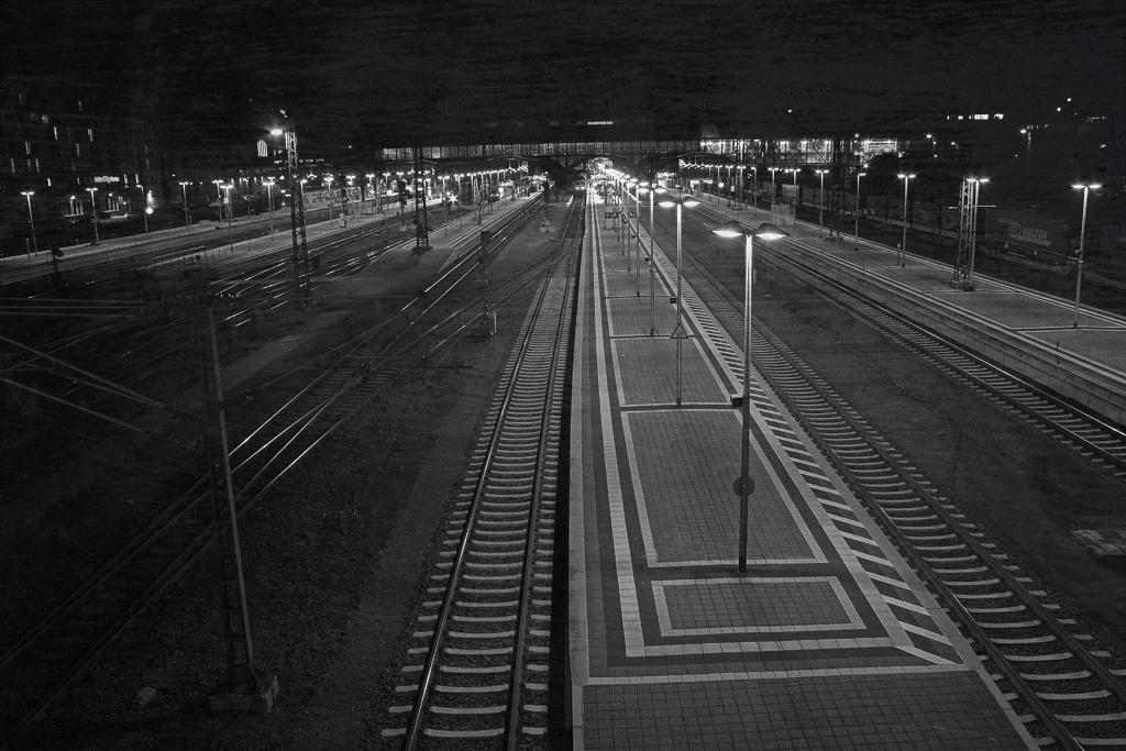 Darmstadt Hauptbahnhof @ Night