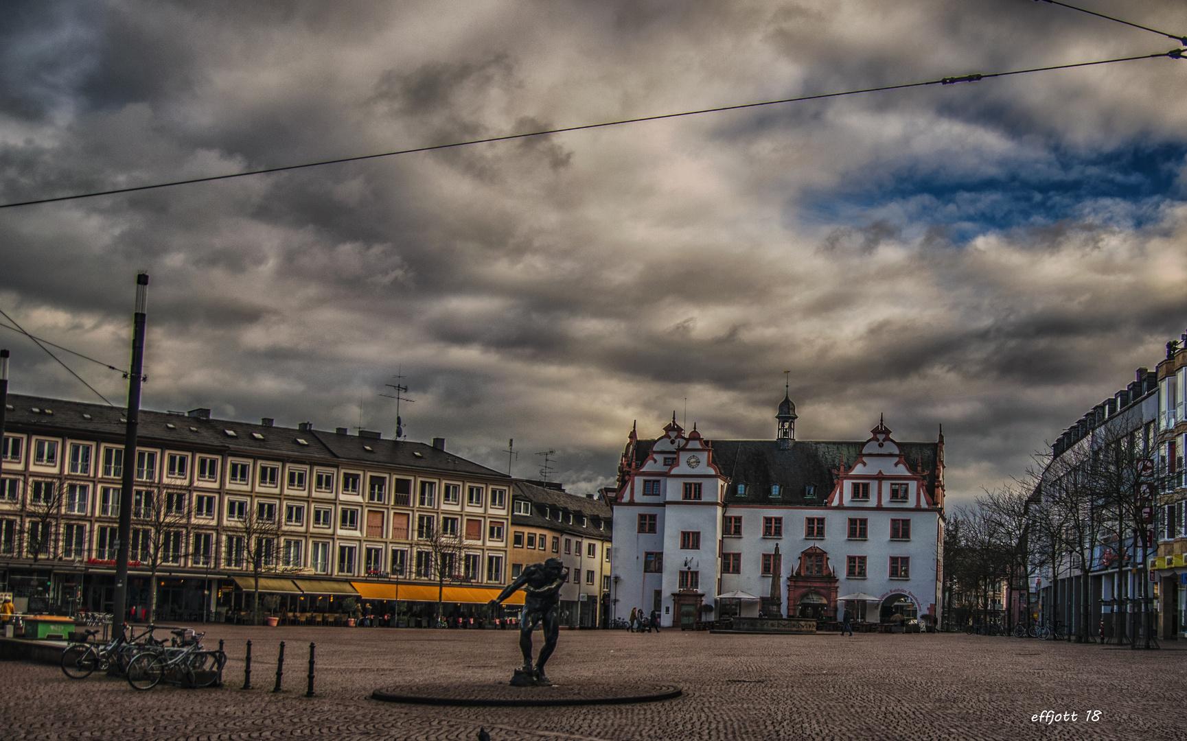 Darmstadt Marktplatz