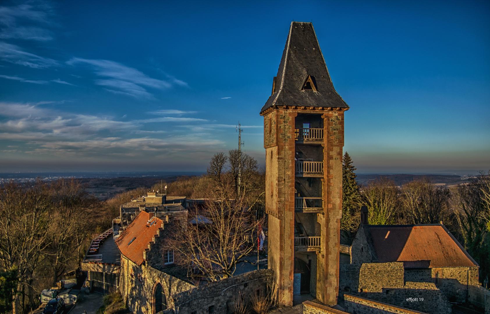 Darmstadt - Ruine Frankenstein