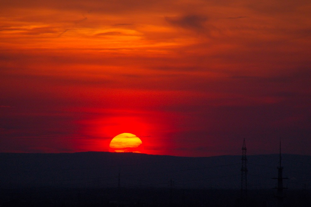 Darmstadt_Sonnenuntergang